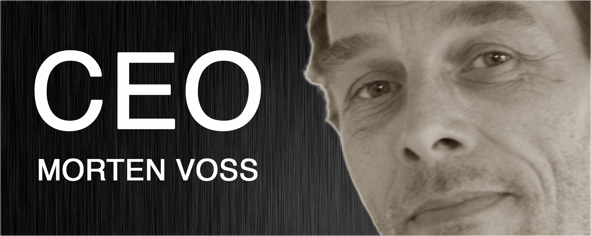 Morten Voss - Direktør hos Voss Guitars